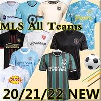 MLS Soccer Jerseys 21/22 Inter Miami Atlanta DC United La Galaxy Los Angeles New York فيلادلفيا Union Orlando City Cincinnati Nashville M