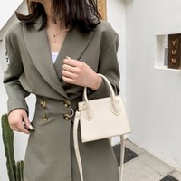 Casual Diagonal Shoulder Square Popular Girl One Outing Solid New Bag Color Handbag Small Simple Fashion Pcent