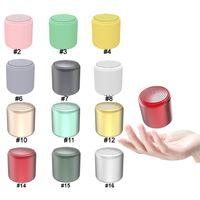 المحمولة مصغرة سماعات بلوتوث لاسلكية IANPICE INPICE LITTRFUN Macaron SoundBox TWS TRUE LOUDSPEAKER في الهواء الطلق 16 ألوان