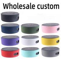 Cas de silicone pour Amazon Echo Dot 2 Haut-parleur Bluetooth Couvercle de protection Couleur Pure Haut-parleurs Dustoutes