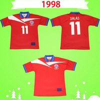 1998 Retro Şili Futbol Forması 98 Ev Kırmızı Vintage Futbol Gömlek Klasik Üniforma # 11 Salas Zamorano Neira Rodental Acuna Sierra En Kaliteli S-2XL
