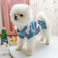 Dog Apparel Sweet Pet Clothes For Small Dogs Cats Shih Tzu Yorkshire Costumes Coat Jacket Puppy Sweater Princess Pets Outfits