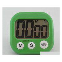 Zamanlayıcılar Gelmesi Büyük LCD Dijital Mutfak Pişirme Zamanlayıcı Geri Sayım Yukarı Saat Yüksek Olarak Alarm Manyetik NY38B 31UTA