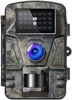 تريل لعبة كاميرا 16MP للرؤية الليلية الحركة المنشط 1080P كاميرات الصيد مع توهج منخفض وترقية ماء IP66 للخارج في الهواء الطلق مشاهدة الحياة البرية