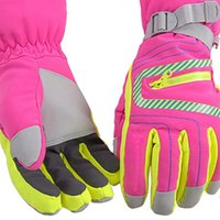 Ski Gloves 2 Pcs Full Finger Winter Motorcycle Screen Touch Guantes Moto Racing Skiing Cycling Riding Sports