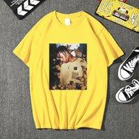 Camisetas para hombre 2021 Travis ScoButtutterfly Men T Shirt Effect Pair Music Cover High Quality Face Face Material Mantops T-shirt Plus Tamaño