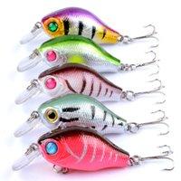 8.5G 5.5cm Bass Fishing Seures Cait Cebo Crankbait Tackle Tackle Bait Bebe Wobblers Pesca Japón Duro Crazy Fish Lure 795 Z2