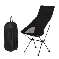 Outdoor Folding Chair Portable Ultra- light Leisure High Back...