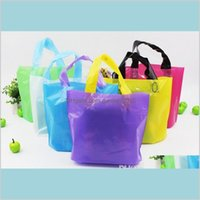 Packing Bags & Office School Business Industrial Er !!! Reusable Grocery Plastic Bag Heavy Duty Shopping Tote With Long Handles Clothe