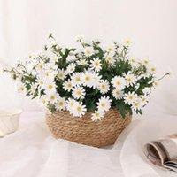 Decorative Flowers & Wreaths 1pcs Daisy Artificial Bouquet For Home Wedding Decoration DIY Bridal Silk Fake Flower Accessories