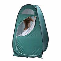 Waco Pop Up Privacy Tenda per doccia esterna portatile, piscine WC da campo, spogliatoio, riparo della pioggia con finestra, campeggio e spiaggia, set di facile configurazione, borsa da trasporto, leggero
