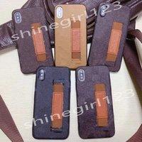 أعلى حالات الهاتف الأزياء لفون 12 برو ماكس ميني 11 XR XS 7/8 بلس بو الجلود شل الهاتف S - 1