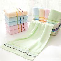 Serviettes de bain en coton doux Grand bain absorbant Beach Beach Face Cotton Serviette Home Hotel de salle de bain pour adultes