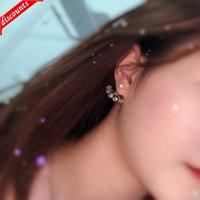 Net Red Pearl Brinco Jóias Clipe Coreano Moda Feminina Botão Yiwu Ke00009