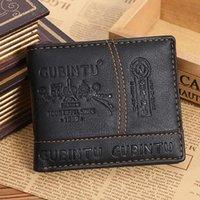 Wallets Men Casual Small Money Purses Leather PU Design Multi-function Coin Bag Zipper Clutch Clip