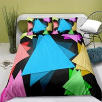 Bedding Sets Home Textiles Printed Abstract Style Quilt Cover & Pillowcase 2 3PCS US AE UE Full Size Queen Set