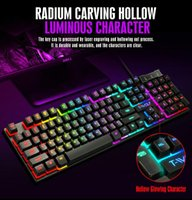 Gaming Keyboard And Mouse Wired With Backlight Gamer Kit Silent Set For PC Laptop Keyboards