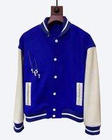 2021 Winterdesigner Kugeljacke Herren Baseball Anzug Mode Dicke Basketball Active Casual Slim Sportswear Männer Mantel Damen Leder Kleidung