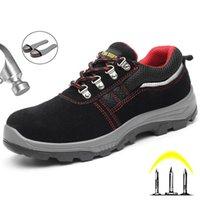 الأحذية yuxiang العمل السلامة التمهيد الصلب تو أحذية الرجال أحذية رياضية في الهواء الطلق ثقب واقية غير قابل للتدمير