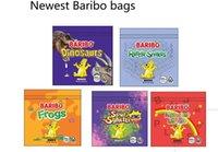 Más nuevo MEDICADO Baribo Haribo Gummies Embalaje Bolsas Frogs Sour Sghetti 500mg Zip Paqueta de cierre Resellable Embalaje Venta al por menor Caramelo Bolso gomoso