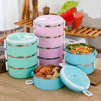Sealed Stainless Steel for Kids Student Food Thermos Containers Organizer Bento Box Lunch Heated Meal