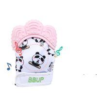 Newbaby عضاضة قفازات طفل مص أصابع سيليكون القفازات الرضع الأضراس العناية أسنان التسنين قفاز صوتي ميت المنتج المنتج EWE7237
