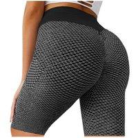 35 # kadınların rahat sıkı montaj sıska kalça spor legging kaldırma spor kısa pantalones de mujer tozluk