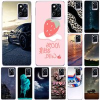 Phone Cases For Infinix Note 10 Pro 2021 6.95 inch Soft TPU Cover Color Luxury popular Printing Mobile Fashion Bags