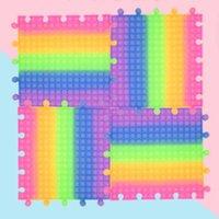 الحزب صالح الإبداعية اللون 30 سنتيمتر حجم كبير ضغط قرصة الموسيقى لعبة بوي فتاة فنجر لغز الضغط الاسترخاء متعددة اللعبة