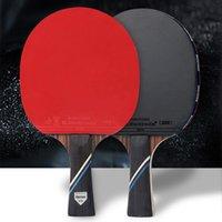 Table Tennis Raquets Kokutaku Pingpong المجاذيف مع بنية الكربون خفيفة الوزن طويل الأمد مريحة لليدين هدية للمشجعين الرياضية MC889