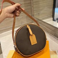 Round bag Luxury Designer Brand Fashion Shoulder lady Bags Handbags High Quality Women chains letter mobile phone purse wallet cross body classic style all match