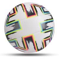 EST 축구 공 표준 크기 5 기계 스티치 축구 공 PU 소재 스포츠 리그 경기 훈련 공 Futbol Voetbal