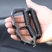Секция металлической костяной защиты относится к мужчинам и женщинам самообороны Tiger EDC портативные инструменты HW277
