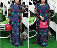 Casual Dresses 2021 Length 150cm 2 Piece Set African For Women Africa Clothing Muslim Long Dress Fashion Lady