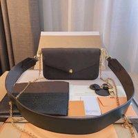 ハンドバッグ女性の贅沢なデザイナーズ財布ハンドバッグクラシック最も販売レザー財布携帯用クロススランピュア牛革21 * 3 * 12cm豪華なデザイナーバッグ