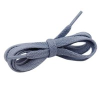 8 Mm Pure Blue Color Canvas Shoelaces 60-180 Cm Men Women Sneaker 2021 Flat Type Ropes For One Jumpman 1 1s