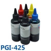 잉크 리필 키트 600ml PGI425 CLI426 Canon Pixma MG6240 MG8240 MG6140 MG8140 프린터 PGI-425 용 고품질 CISS 벌크