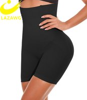 Lazawg Womens BodyShaper Shapewear Tummy Control Panties 허벅지 슬림 엉덩이 리프터 속옷 허리 Cincher 전원 반바지