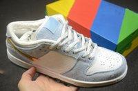 Sean Cliver X Stylist Kaykay Ayakkabı Düşük Pro QS Casual Run Eğitmenler Sneakers Sports des Chaussures Zapatos Kutusu Ile Gel