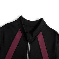 Women's Tracksuits Sauna Suits Waist Trainer Jacket Hot Sweat Top Neoprene Body Shaper Workout Suit Running Cycling Jersey