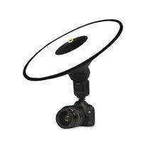 Universal 44cm Round Studio Flashes Soft Caixa Fotografia Difusor Softbox SpeedLite Difusores para Flash da Câmera