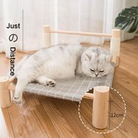 Cat Sisal Camping Bed Four Seasons Removable And Washable Hammock Moisture Off The Ground Pet Supplies Nest Beds & Furniture