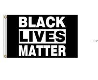 Black Lives Matter Flag Banner Supplies For Outdoor BLM Peace Protest Outdoor Banner Bracelet HHF10075