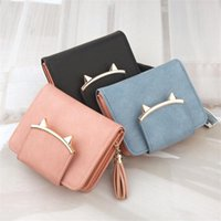 Wallets Women Small Fashion Brand Leather Purse Ladies Card Bag For Clutch Female Money Clip Wallet