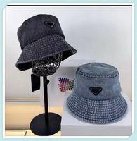 Lüks Tasarımcılar Kadın Kova Şapka Bonnet Erkek Düz Beanie Gorro Denim Geniş Ağız Şapka Güneş Caps Casquette Cappelli Firmati Mütze 21041902TDQ