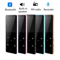 & MP4 Players Lossless MP3 Player Bluetooth Touch Keys Built-in Speaker 16GB HiFi Sound Portable Walkman With Radio  FM  Record Music