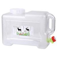 Бутылка для воды Высокое качество 12L Автомобильное ведро ПК Утолщенные крана самостоятельно вождения Портативный контейнер NCM99