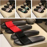 New2021 Slide Sandal Designer Shoes Luxury Summer Fashion Wide Plant Slipper Men and Women Sandals Flops 01