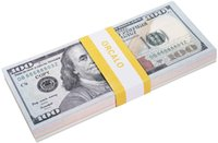 Movie Looks Props Fake prop banknote Cinema Real Stack Money Dollar That Play Bills USD $100 Prop Oveck