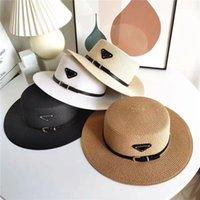 Yeni Lüks Hasır Şapka Erkekler ve Kadınlar Için Aynı Seyahat Sunscreen Kemer Toka Güneş Şapka Güneş Kremi Güneşlik Şapka 14 Modelleri Seçilebilir